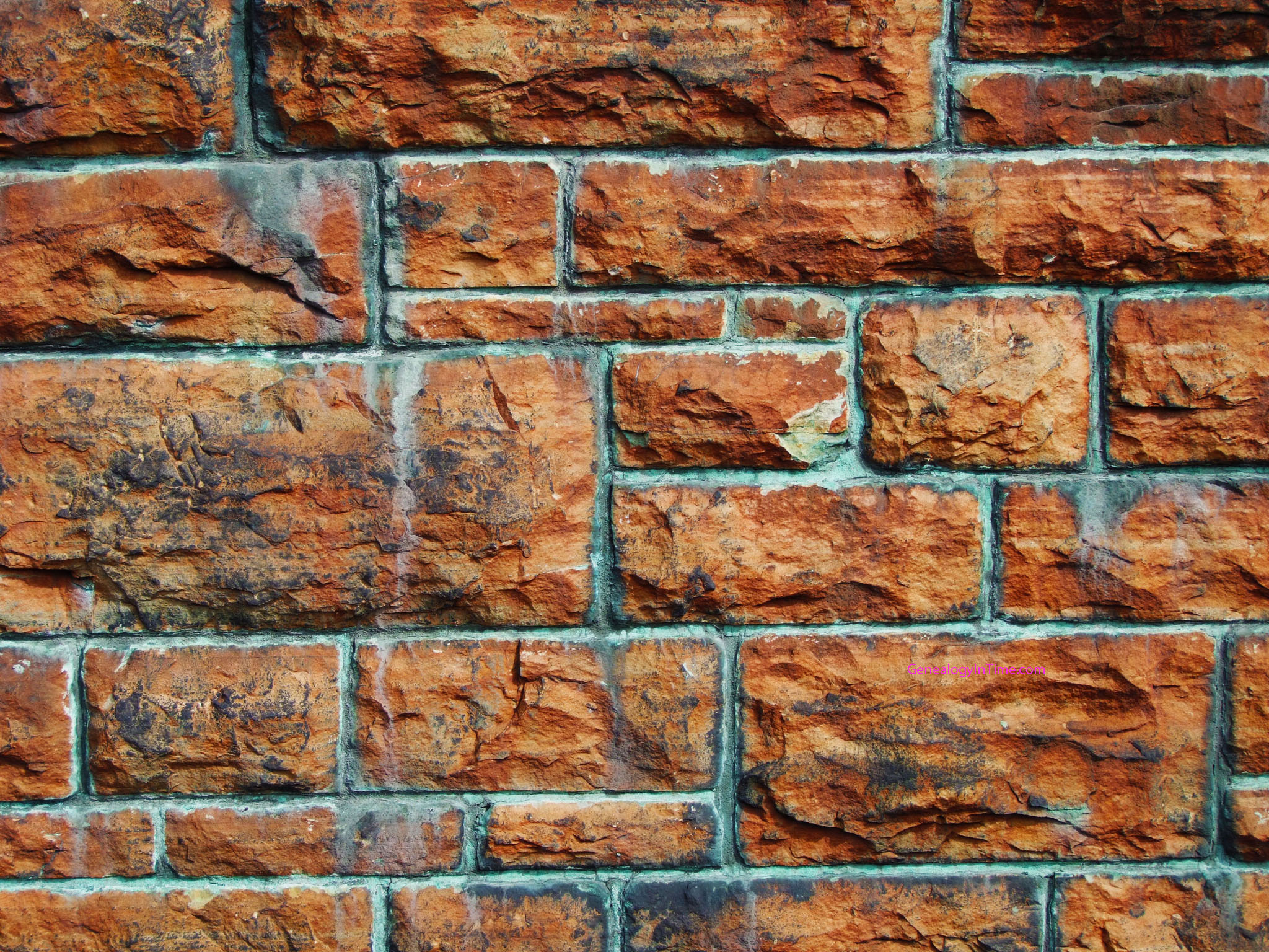Free brick wall images series 2 for Wallpapered walls