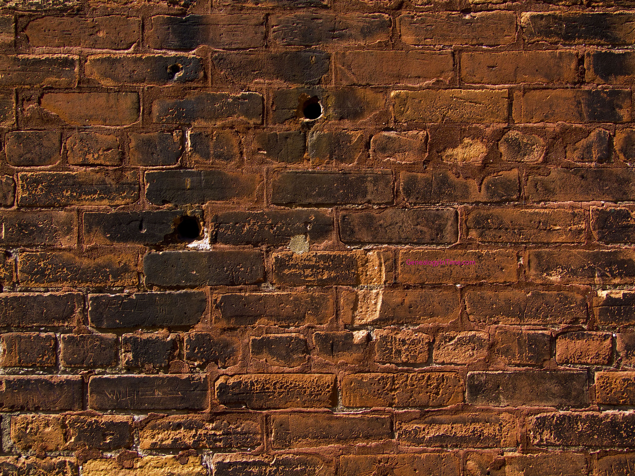 Free brick wall images page 4 for Wallpapered walls