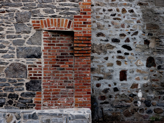 bricked in doorway
