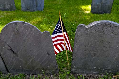 Boston Patriot gravestones