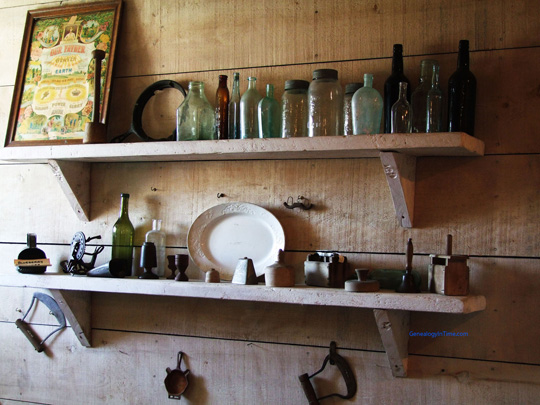 heritage kitchen shelf