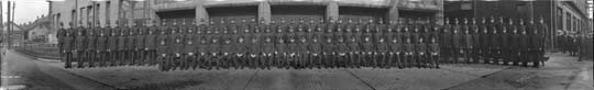 1921 Vancouver Police Department