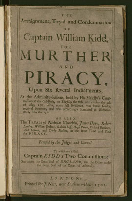Captain Kidd trial