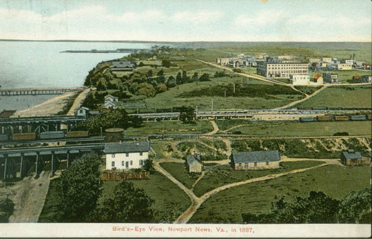 Newport News historic postcard