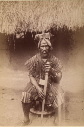 tribal chief, Sierra Leone 1890