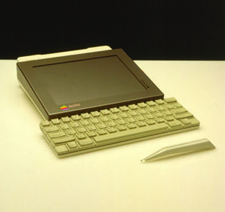 apple prototype tablet computer from 1980s - Bashful