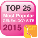 top 25 genealogy website 2015