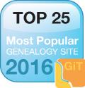 top 25 genealogy website 2016
