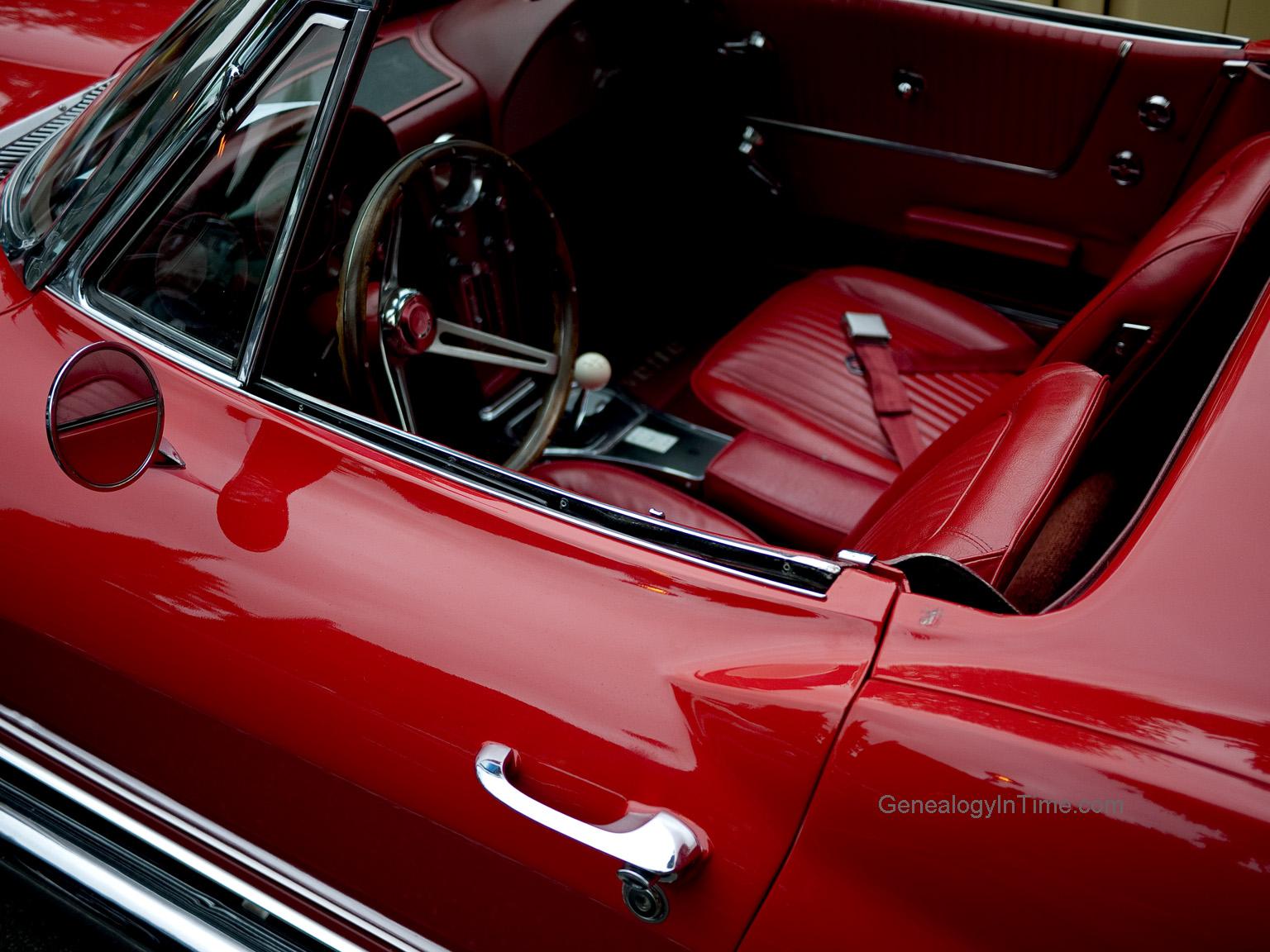 Nice 1960s Chevrolet Corvette Interior